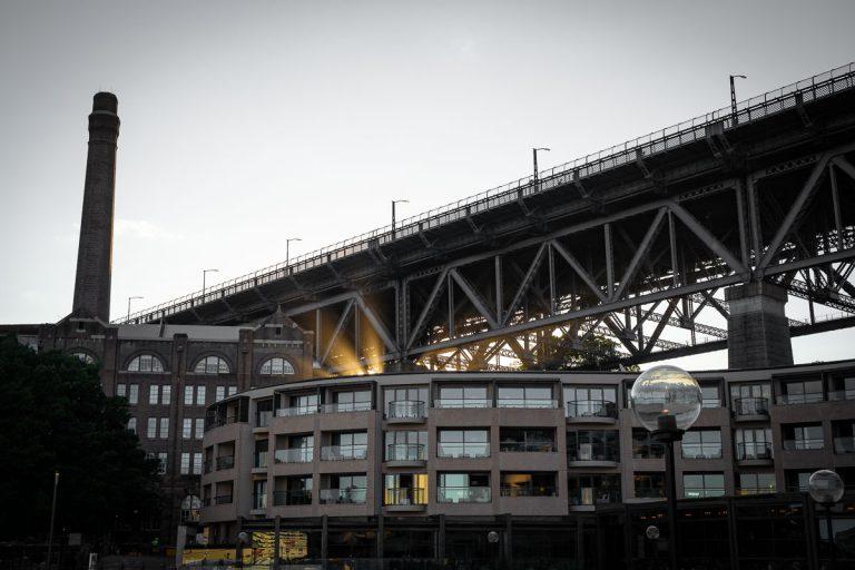 Sydney Harbour Bridge Sunrays