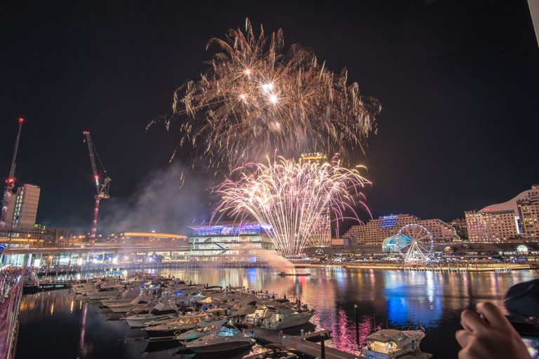 Darling Harbor Firework
