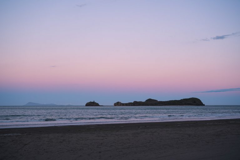 Sundown at Cape Hillsborough