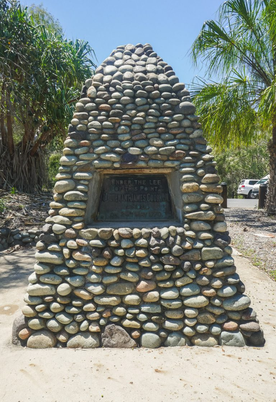 Seventeen Seventy Cook Monument