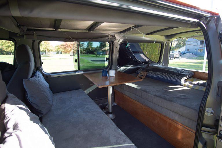 Camper mieten - Nissan Caravan