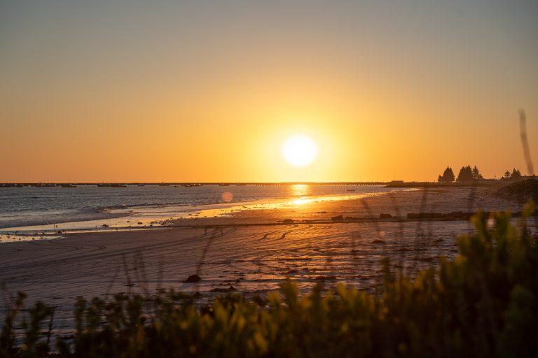 Port MacDonnell Foreshore Tourist Park Sunset