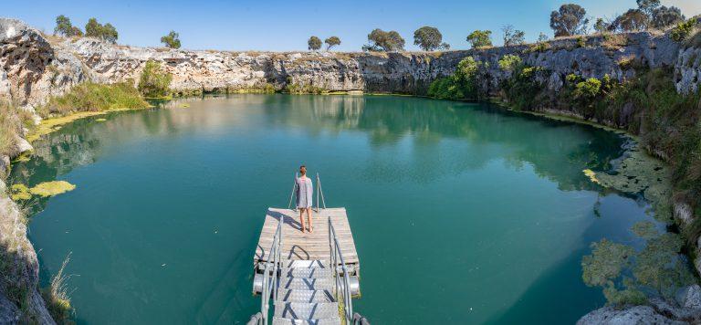 Little Blue Lake South Australia